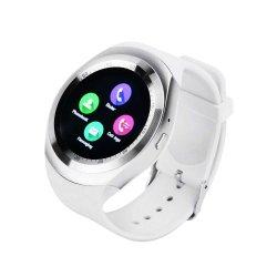 Y1 Bluetooth 3.0 Smartwatch поддерживают SIM & TF карты разблокирован смотреть сотовый телефон, Pedometer Moniter сна, напоминание о движении для iPhone, Samsung, Android