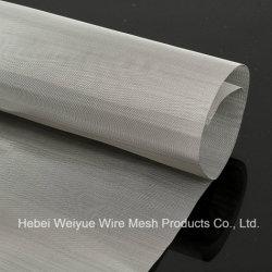 Échantillon gratuit 304 316L'usine ss fil tissé en acier inoxydable pour le filtre à mailles carrées
