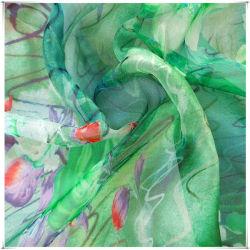 Le Mûrier de tissus imprimés en mousseline de soie