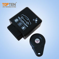 جهاز تعقب Topten GPS جهاز تعقب GPS مضاد جاممر Fleet Management System OBD GPS Tracker Car Alarm (TK228-KH)