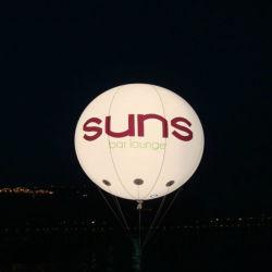 Balão de PVC Balão de hélio balão TPU