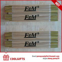 2m 10 plis Don la règle de pliage en bois pour la promotion
