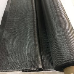 Una muestra gratis 3K 200g de 3K Twill/3K Plain de fibra de carbono Fabic para equipos deportivos