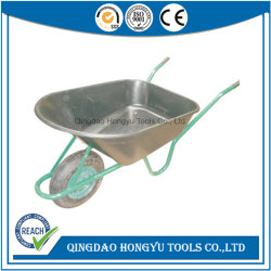 Wb6424L marché roue en plastique de roue simple Barrow, outils de jardin