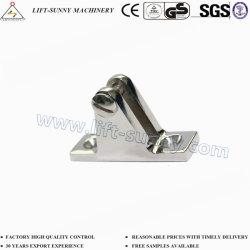 304 pont en acier inoxydable 316 Rectangle de charnière de base plate