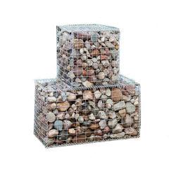 重い庭の塀のための亜鉛によって塗られる溶接されたGabionの網ボックス