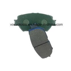 Auto avant et arrière Low-Metallic Semi-Metallic Plaquette de frein en céramique
