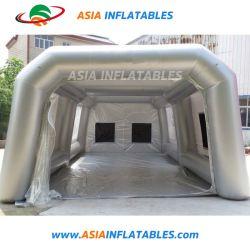 Mobiles automatisches aufblasbares bewegliches Auto-Spray-Stand-Zelt für Verkauf