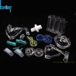 جهاز طبي مخصص قناع تنفس تنفس من خلال جهاز تنفس بلاستيكي/نظام تنفس حقن LSR