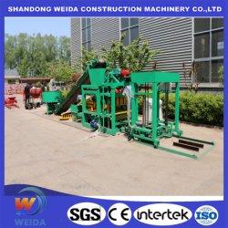 Opportunità di business in Africa Qtj4-25 cemento cemento cemento standard solido Macchina per la realizzazione di blocchi cavi