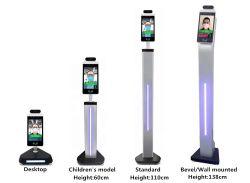 8 Zoll-Gesichtsanerkennungs-System mit Temperatur-Messen-Schablonen-Befund, Gesichts-Anerkennungs-Kamera-Zugriffssteuerung-Terminal