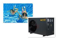 セリウムISO9001 10.5-98kwのプールのヒートポンプの水泳の小さいヒートポンプの給湯装置の空気ソースヒートポンプ