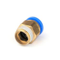 De blauwe Low-End van de Knoop Pneumatische Montage van het Messing (PC 8-02)
