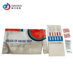 12 Группа Multi-Drug панели быстрого скрининга Doa мочи Испытательные комплекты по контролю над наркотиками (2, 3, 4, 6, 8, 10, 12)