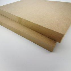 Melamine & Duidelijke MDF HDF Raad voor Meubilair/Verpakking/Decoratie