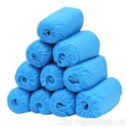 Одноразовые не из ткани против схемы скольжения медицинских операционных крышку контактной площадки пыли и водонепроницаемый медицинская обувь крышки