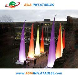 LED Décoration gonflable, cône de décoration gonflable