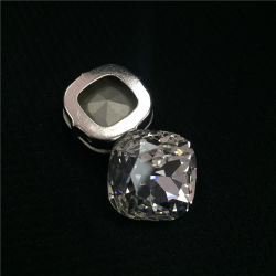 Мода квадратной формы K9 Crystal фантазии камни с двумя настройка ювелирных изделий завода привода вспомогательного оборудования