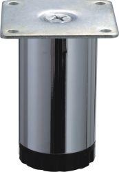 Black Bottom concurrentiel de bonne qualité des meubles en acier chromé Canapé-pieds de table