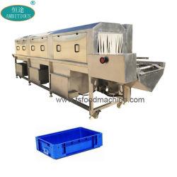 Boîte de caisses de rondelles Tunnel de la machine Machine à Laver Lave-glace de la caisse