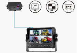 Monitor de vídeo digital de 7 pulgadas con DVR para vehículos autobuses, camiones, tractores