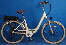 2020 China mejor Motor eléctrico de 350W adulto bicicleta Cruiser playa con los pedales