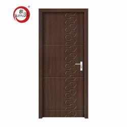 Fábrica de China Apartamento de diseño personalizado de madera maciza puerta de madera antigua