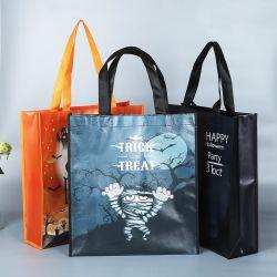 Halloween-Serie umfaßte das nichtgewebte Einkaufen Bag Tote-Beutel-Handtaschen-Strand-Beutel-Schulter-Beutel