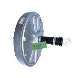 50W-10kw, 100 tr/min-500tr/min disque du rotor extérieur Coreless générateur à aimant permanent pour turbine éolienne à axe vertical