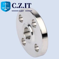 ANSI B16,5 por imersão a quente de peças de usinagem/carbono galvanizado/aço inoxidável 304 316 4 polegada 8 polegada ASME DN250 DN150 Thread no flange do tubo roscado