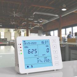 이산화탄소, 일산화탄소, Tvoc 의 Hcho 다기능 가스 미터를 위한 실내 공기 질 모니터