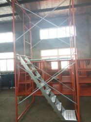 Estrutura da escada / Estrutura Tipo, fabricante de andaimes da Estrutura