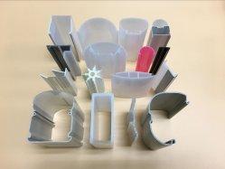 PC, ABS, PVC Extrusion avec pièces de rechange de produits en plastique