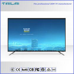 """Alimentation d'usine 43"""" UHD rétroéclairage à LED 4K de la télévision avec AC100-240V"""