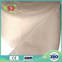Venta al por mayor de tejido Spunlace Non-Woven profesional 100% algodón toalla rollo