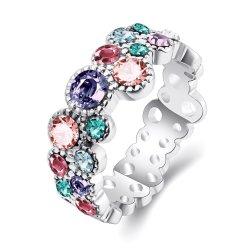 نمط مجوهرات متبدّدة لون زركون حجارة حل