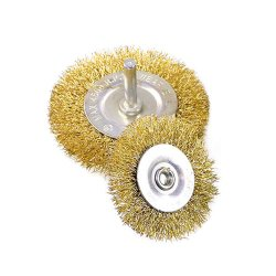 Brosses métalliques en laiton Brosse de nettoyage des roues de la Coupe du Kit de fixation de polissage