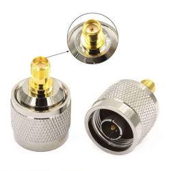 Fiche mâle N droite à SMA prise Jack femelle du connecteur du câble coaxial RF