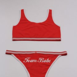"Meninas"" Beach Bikini no estilo quente"