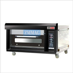 Op zwaar werk berekende Pizzeria die de Elektrische Oven van de Pizza van het Bureau (zmc-102D) gebruiken