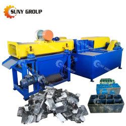 Camion de déchets de recyclage des batteries plomb-acide de la machinerie
