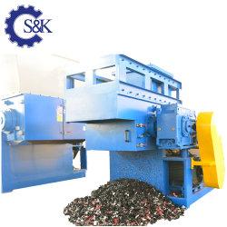 PP Pet tubo PE ABS único eje de la junta de la máquina de trituración triturador de perfil de la botella de la industria de trituración de cartón aplastante maquinaria