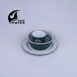 Американский стиль эмаль кемпинг посуда с обода стойки стабилизатора поперечной устойчивости