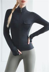 Jasje van de Yoga van de Sport van de Koker van vrouwen het Lange Slanke Geschikte Toevallige