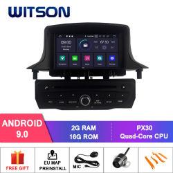 Auto DVD GPS des Witson Vierradantriebwagen-Kern Android-9.0 für Video Renault-Megane III 2009-2011 1080P HD
