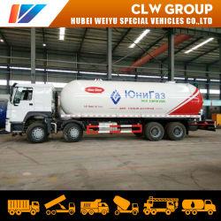 Le remplissage du vérin de grandes quantités de gaz liquide 15ton camion de livraison de GPL