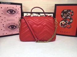 Handtas van de Vrouwen van de Handtas van het Octrooi Pu van de Handtassen van de Schouder van de Dames van het Borduurwerk van de Ontwerper g-Ucci de Glanzende