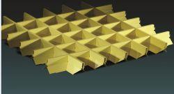 실내 사용을%s 공장 가격을%s 가진 도매 금속 격자 세포 천장