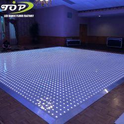 자동차 쇼를 위한 톱 라이트 LED 무선 화소 댄스 플로워