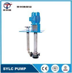 API610 VS4, Eixo Longo Vertical Petroquímico Semi submersíveis ácido de óleo da turbina de Transferência de Líquidos químicos submersa a bomba de sucção